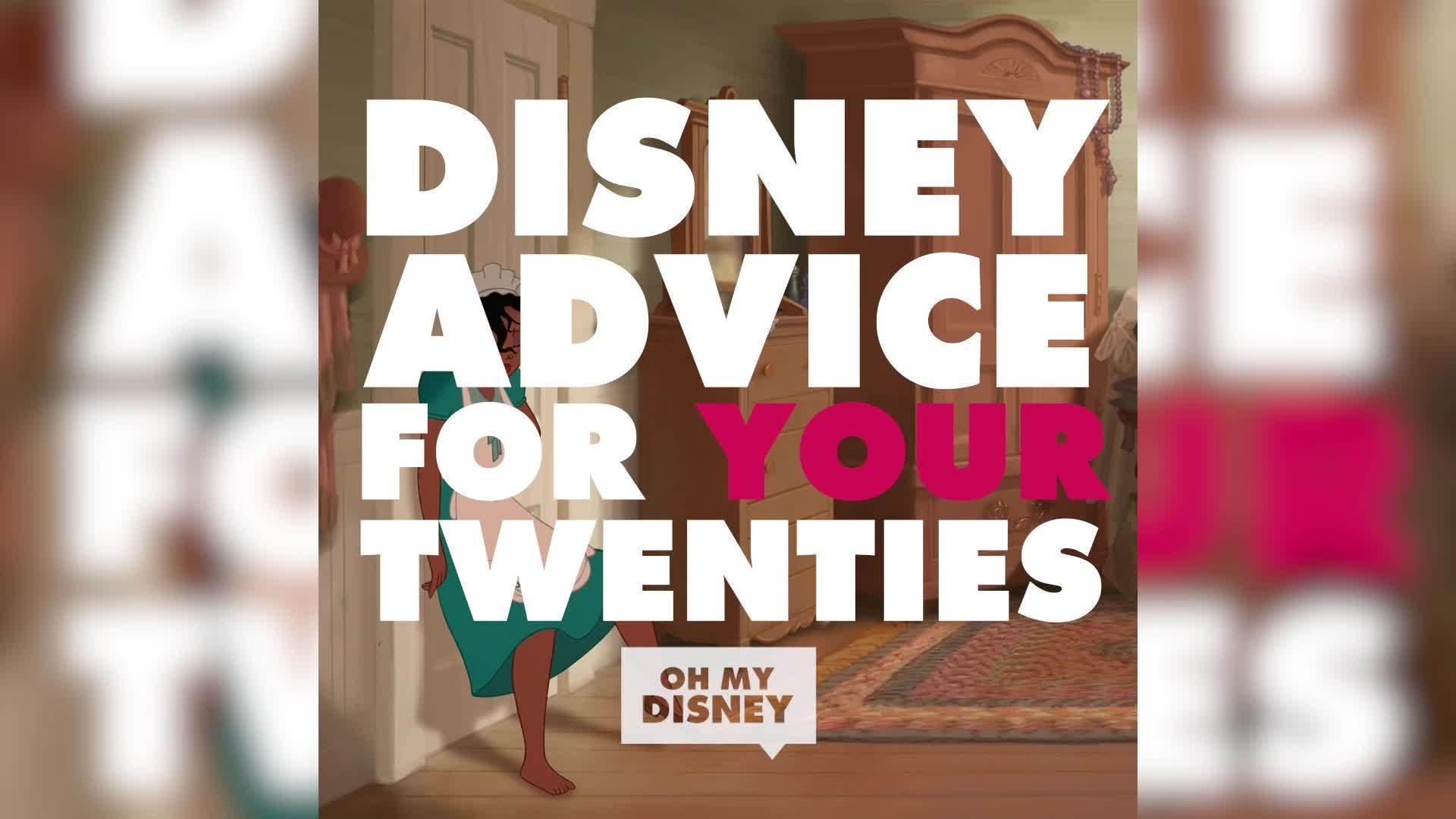 Disney Advice for Your Twenties