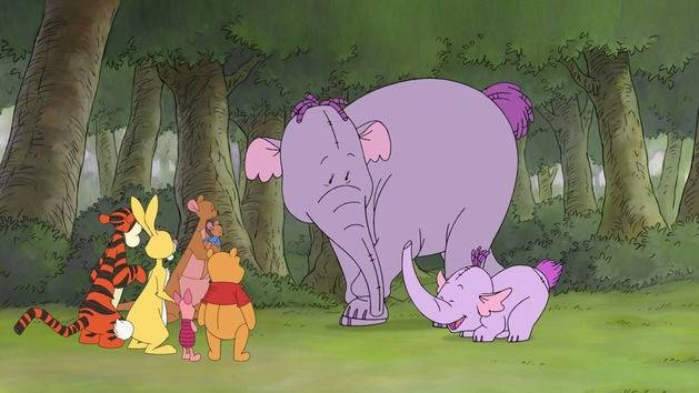 Hunting Heffalump | The Mini Adventures of Winnie The Pooh
