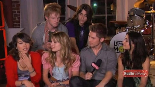 Lemonade Mouth Cast on Somebody