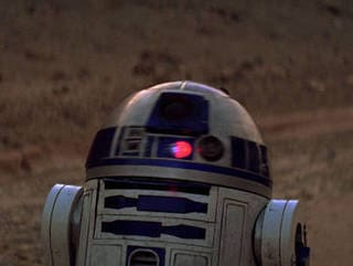 R2-D2 Captured by Jawas