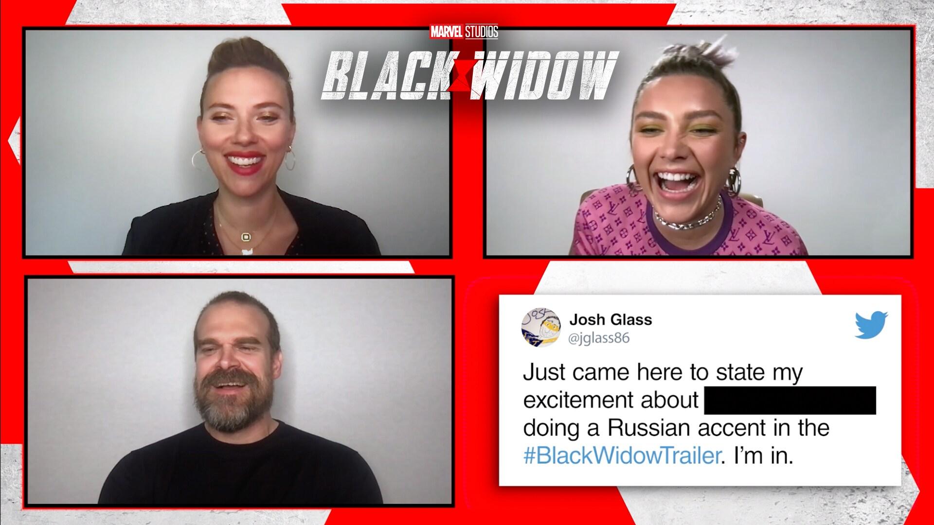 Who's That Tweet About Challenge | Marvel Studios' Black Widow