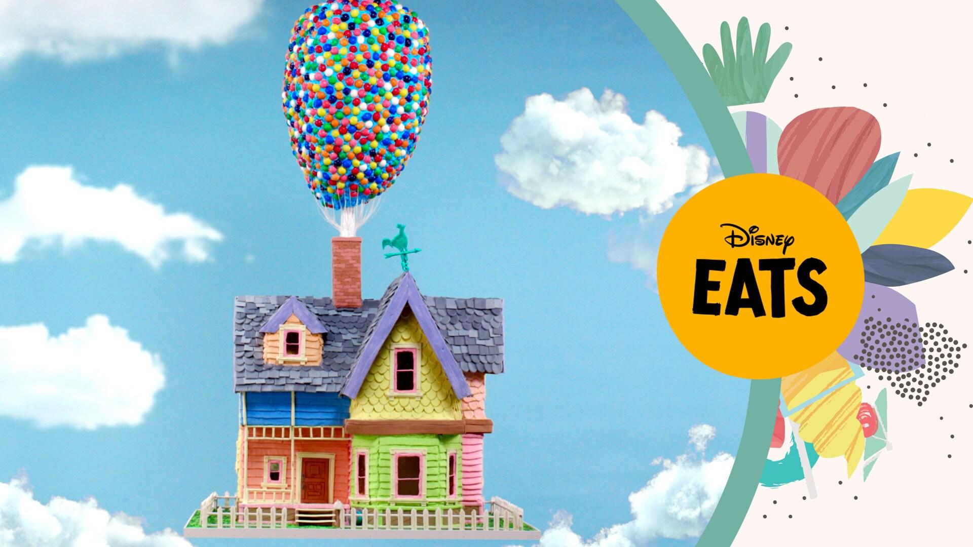 Giant UP Gingerbread House | Disney Eats