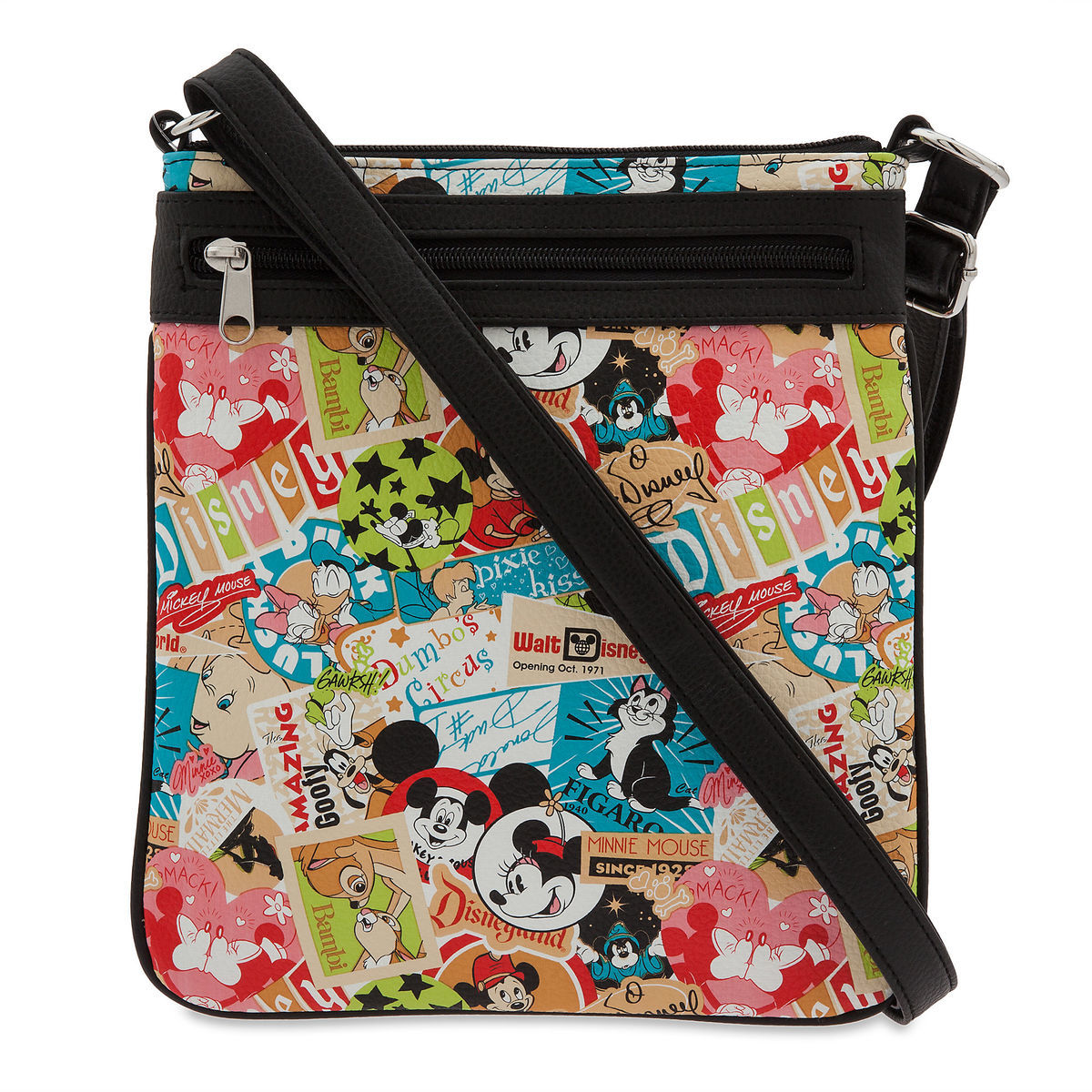 Product Image Of Disney Parks Classic Collage Crossbody Bag 1