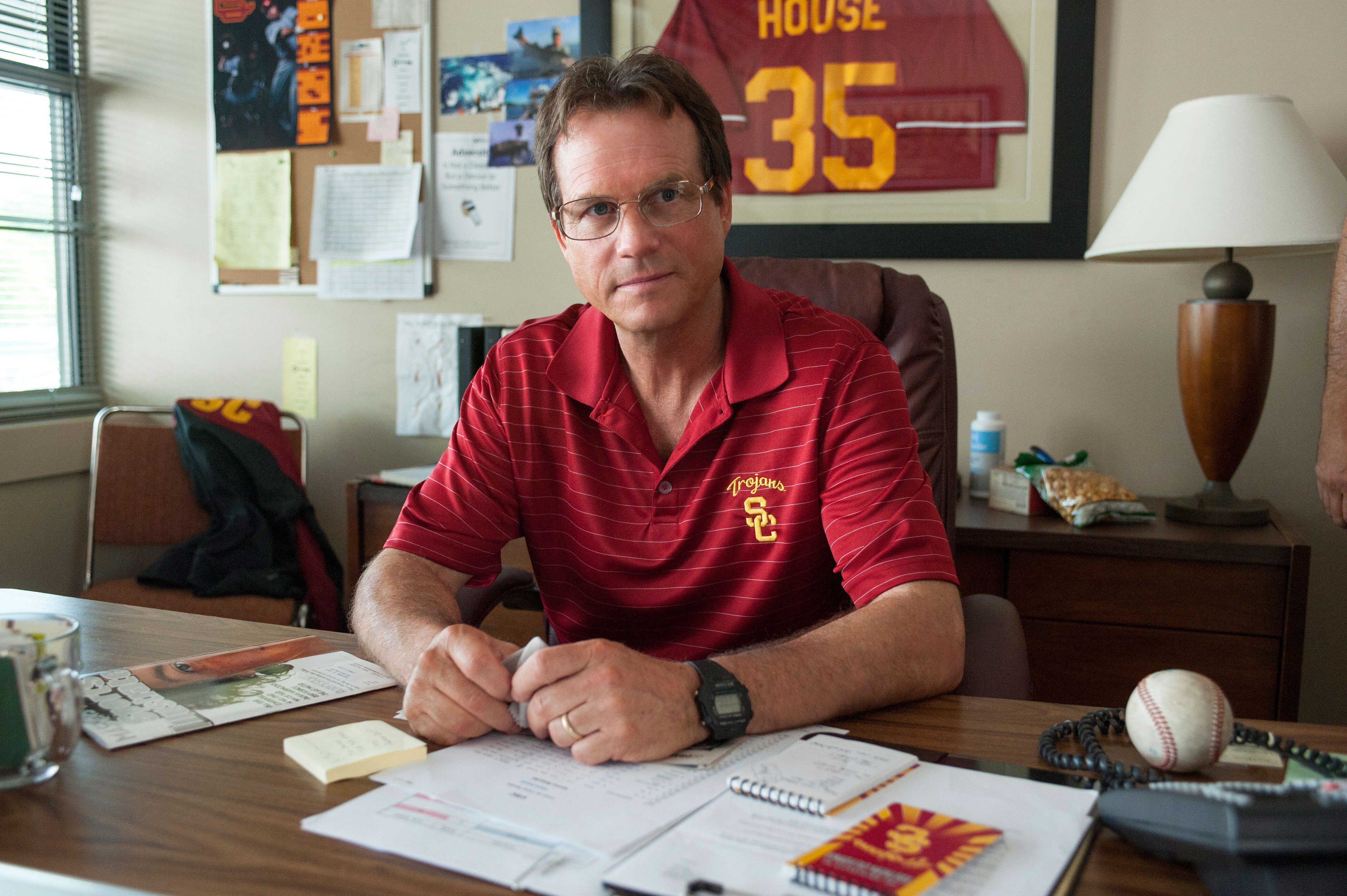 """Bill Paxton as Tom House in """"Million Dollar Arm"""""""