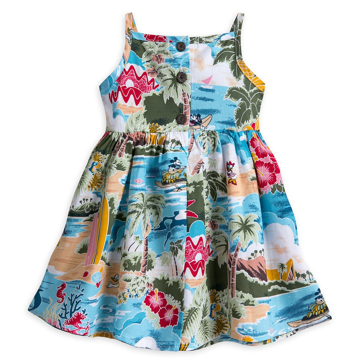 Mickey Mouse and Friends Hawaiian Dress for Baby | shopDisney