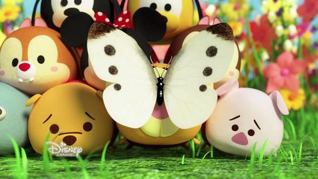 Tsum Tsum Photomania - Chasse aux papillons