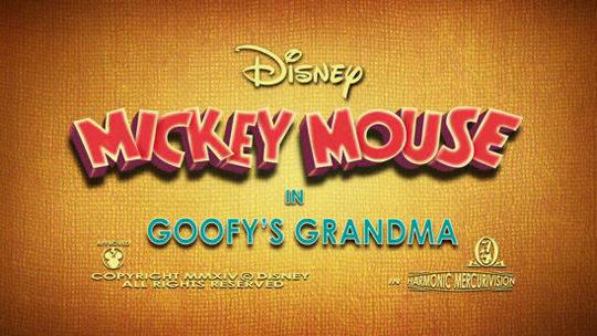 Goofy's Grandma