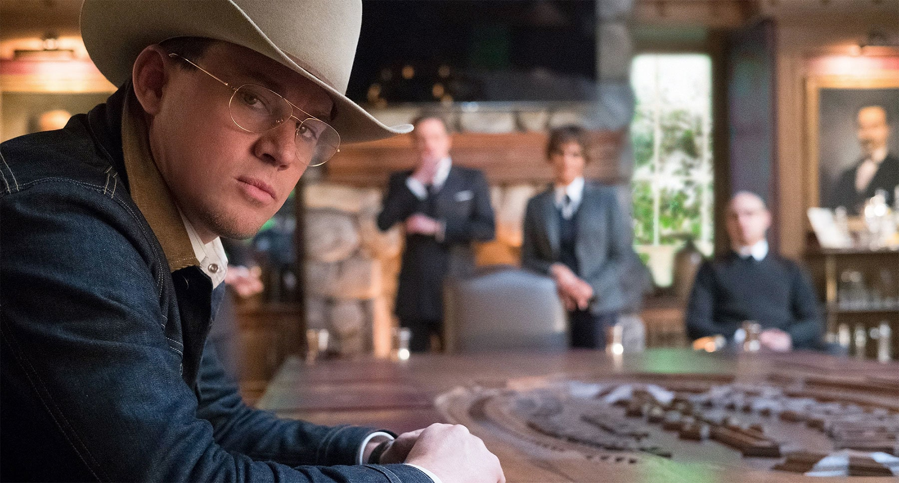 "Channing Tatum (as Tequila) in ""Kingsman: The Golden Circle"""