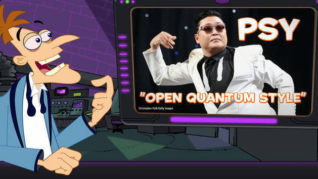 """Doof Daily: GANGNAM STYLE OR """"OPEN QUANTUM STYLE"""" I'M NOT SURE"""