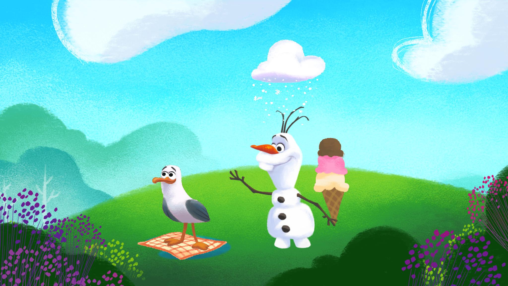 Olaf in summer