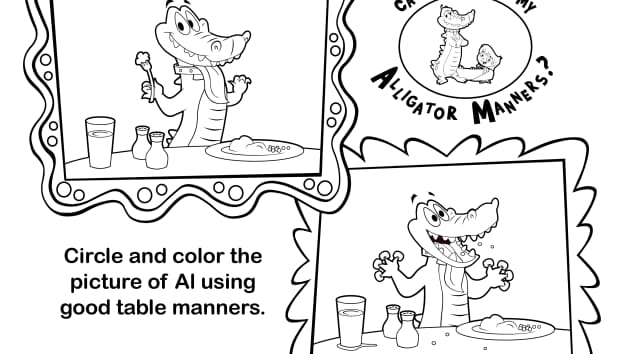 Manners Coloring Pages Good Table Manners Coloring Pages  Coloring Page