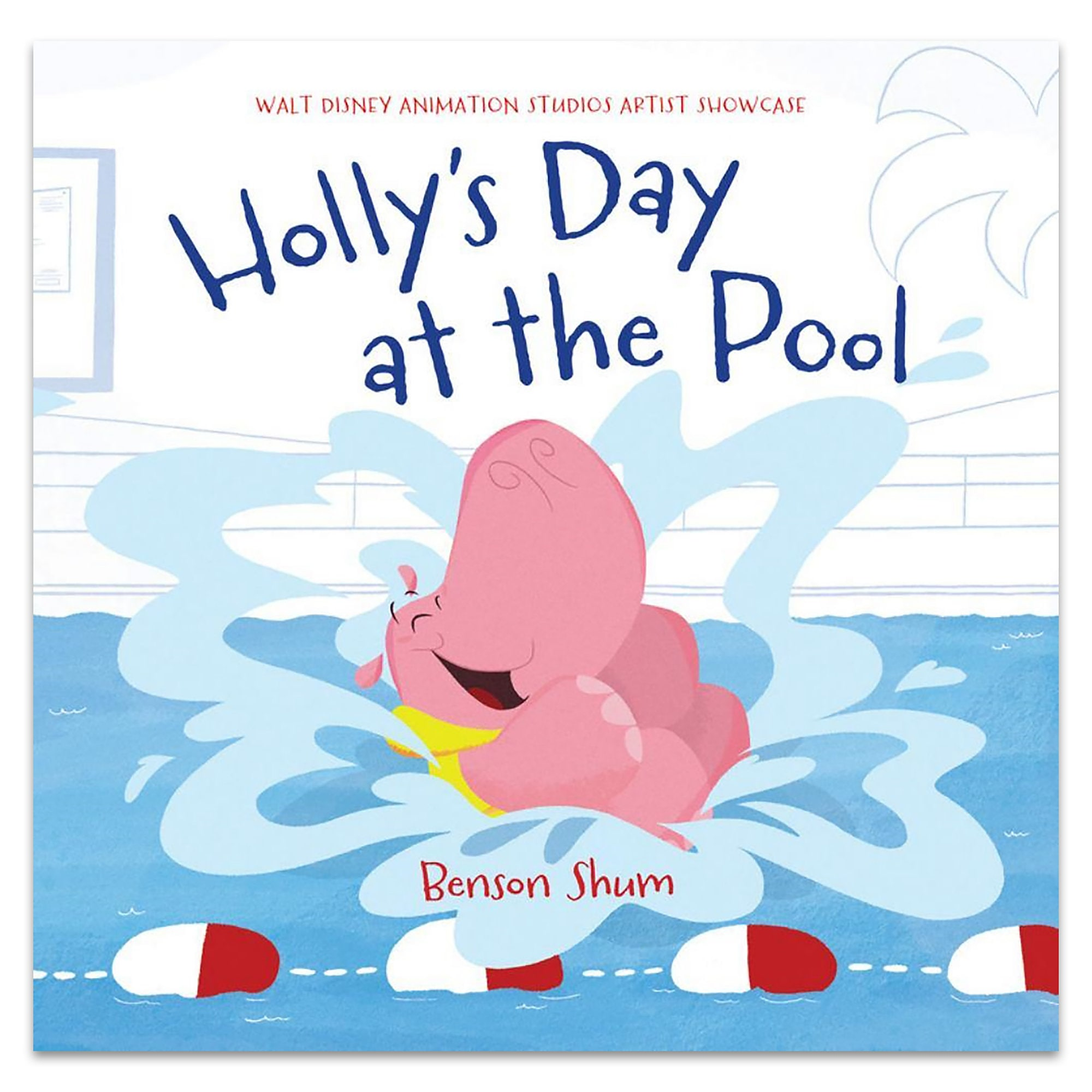 Holly's Day at the Pool Book