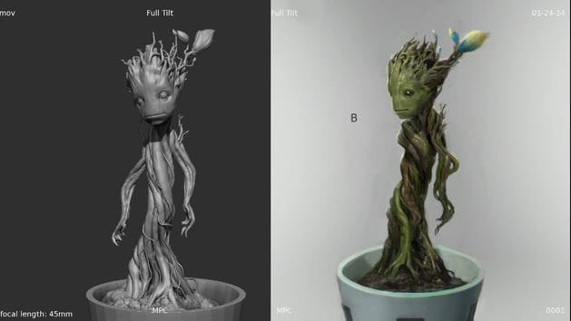 Designing Baby Groot - Guide to the Galaxy - Guardians of the Galaxy