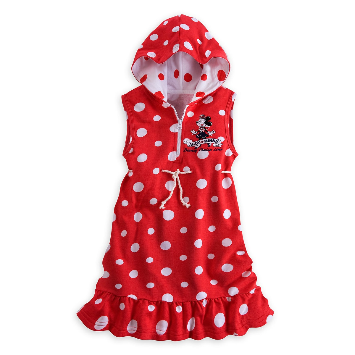 5b77724bf6 Product Image of Minnie Mouse Swim Cover-Up for Girls - Disney Cruise Line #