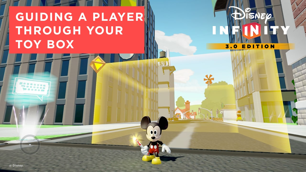 Guiding a Player Through Your Adventure - Disney Infinity 3.0 Tips and Tricks