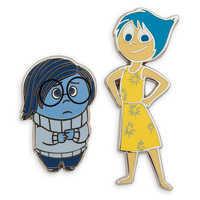 Image of Sadness and Joy Pin Set - Inside Out # 1