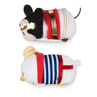 Mickey and Donald ''Tsum Tsum'' Plush Italy Set - Mini 3 1/2''