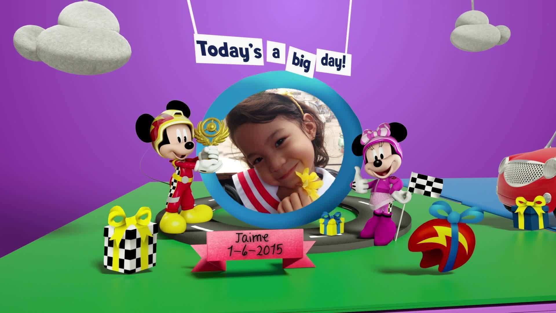 Disney Junior Birthday Book 2020 June Album 4
