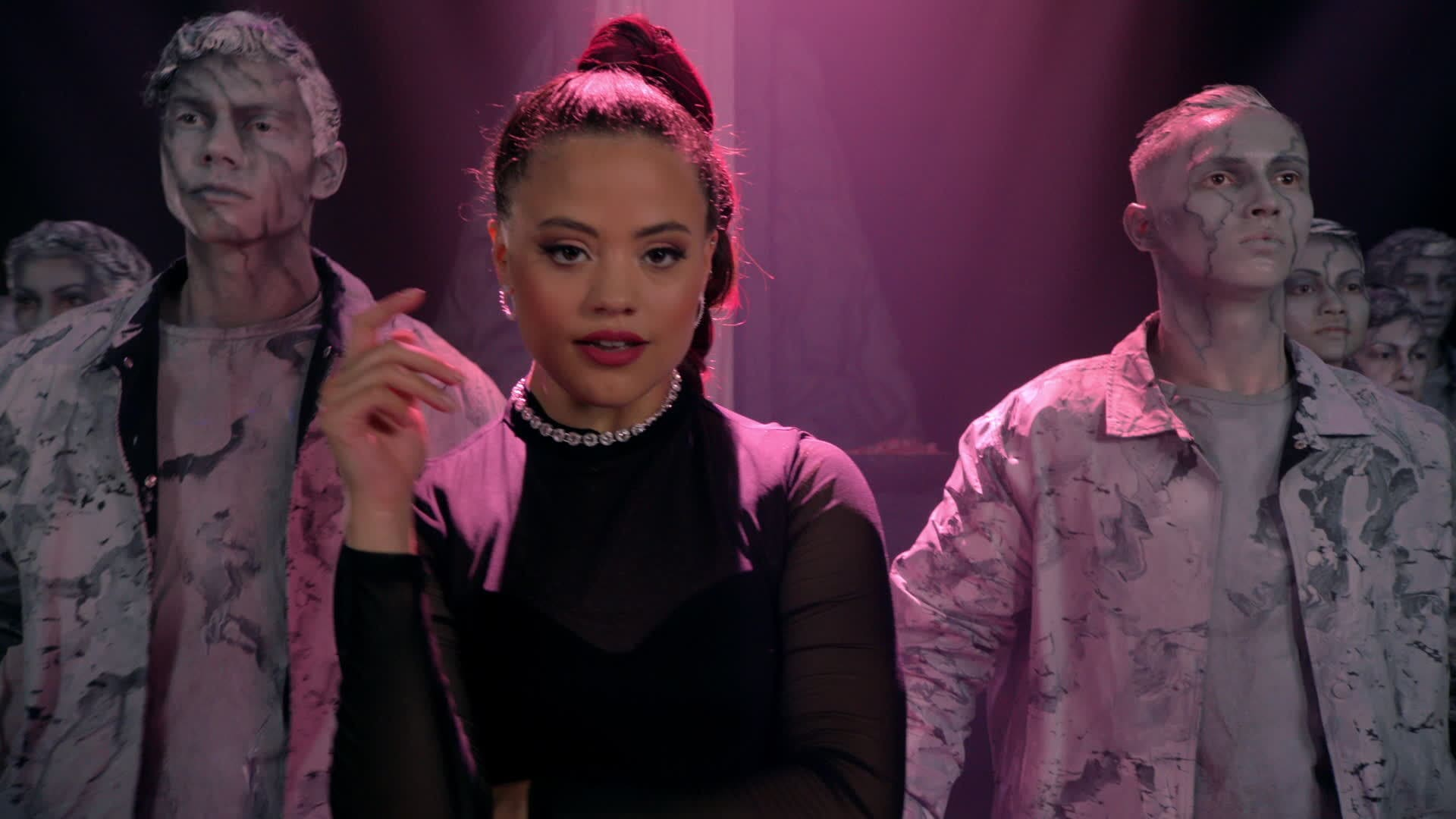Sarah Jeffery Performs Queen of Mean (Remix)