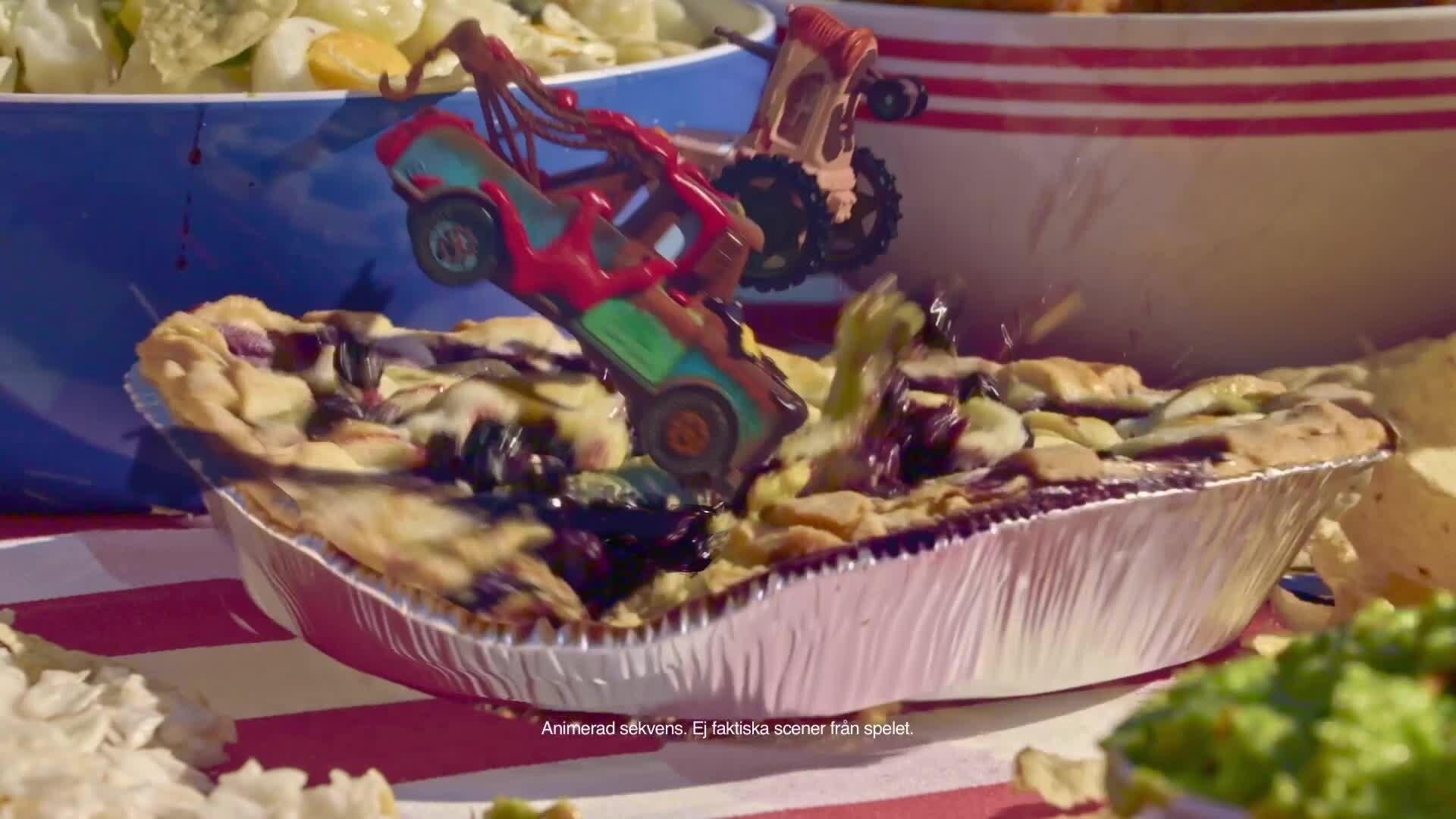 Det stora picknickracet - Cars Daredevil Garage