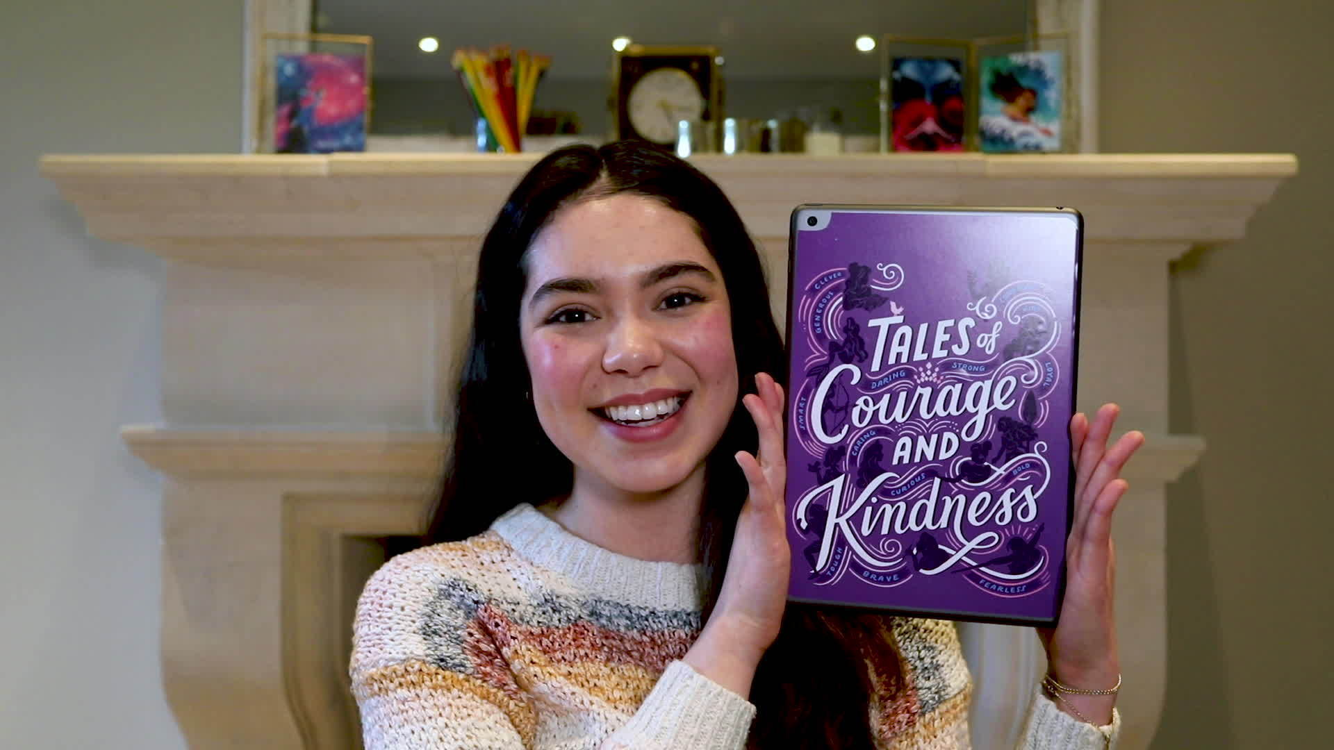 "Auli'i Cravalho Reads from ""Tales of Courage and Kindness"""