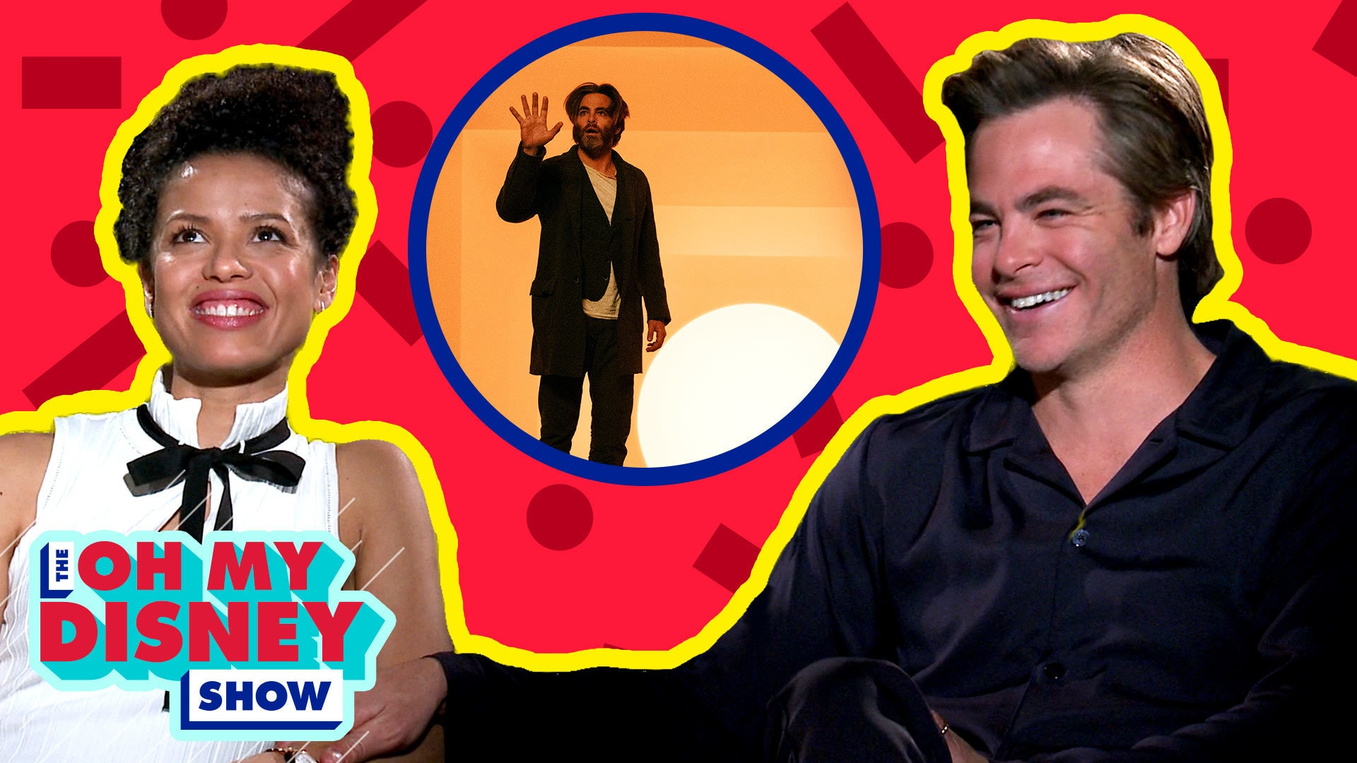 Chris Pine and Gugu Mbatha-Raw on Filming A Wrinkle in Time | Oh My Disney Show by Oh My Disney