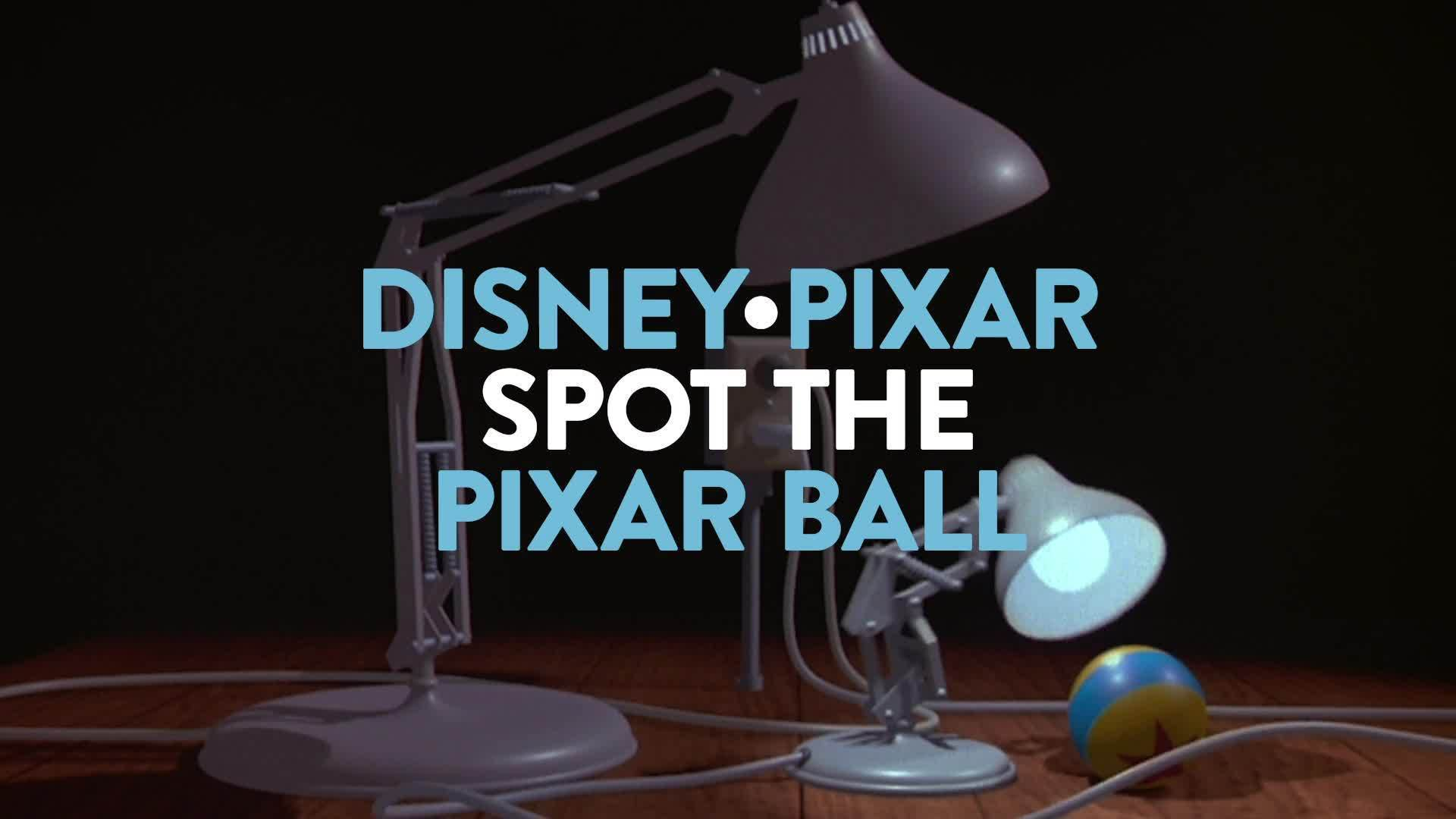Pixar Ball Easter Eggs | Disney•Pixar
