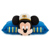 Image of Mickey Mouse Pillow Plush - Disney Cruise line # 3