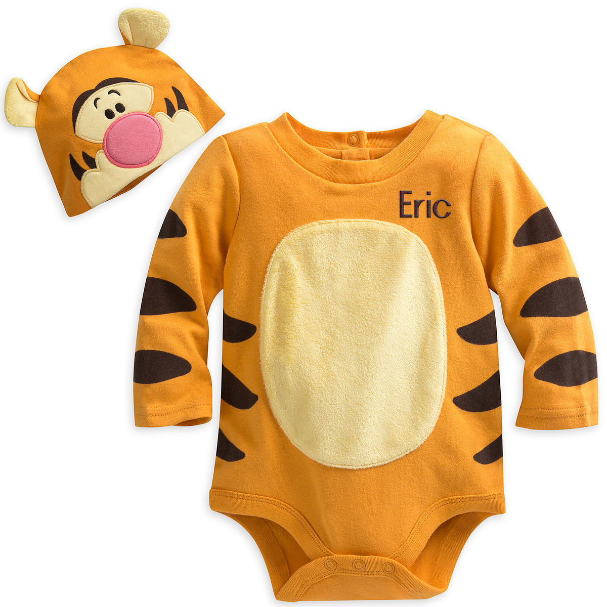 7eec23ac722 Product Image of Tigger Disney Cuddly Bodysuit Costume for Baby -  Personalizable   1