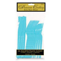Light Blue Cutlery Set - 2 Pack