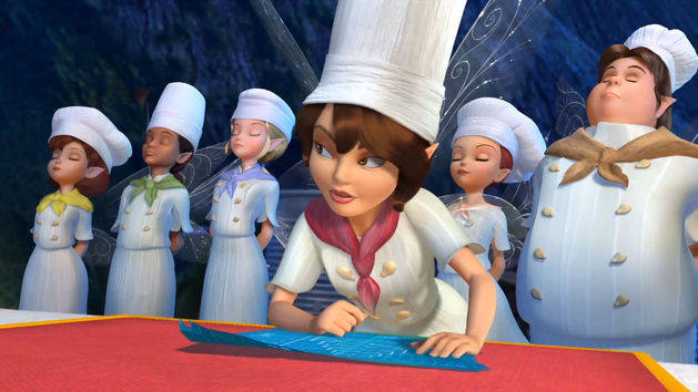 Disney Fairies Shorts - Elfenvallei bakwedstrijd