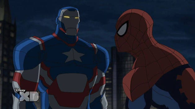 Ultimate Spider-man - Iron Patriot | Ultimate Spider-Man ...