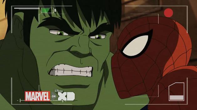 Ulitmate Spider-Man - Hulk skaber kaos