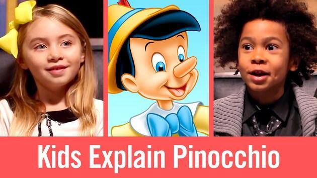 Kids Explain Pinocchio   Babble Kidsplaining