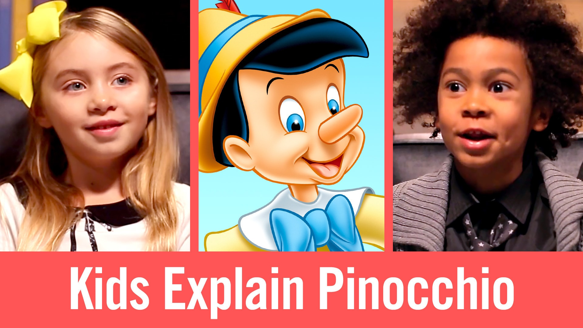Kids Explain Pinocchio | Babble Kidsplaining