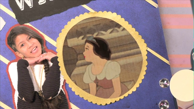 Baby Kaely Raps the Story of Snow White in 70 Seconds