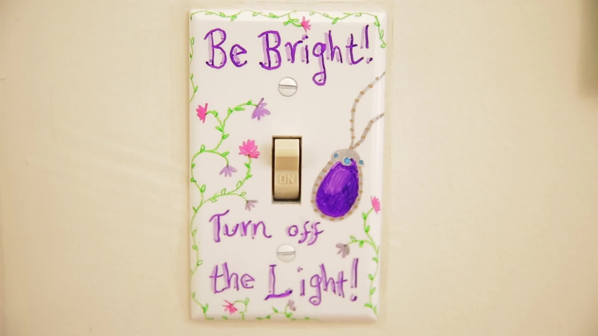 "Disney DIY ""Light Switch"" 