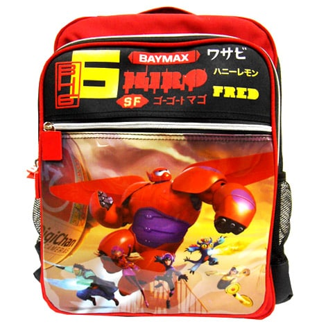 Big Hero 6 Pre School Bag