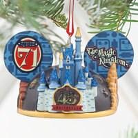 Magic Kingdom 45th Anniversary Light-Up Ear Hat Ornament - Walt Disney World