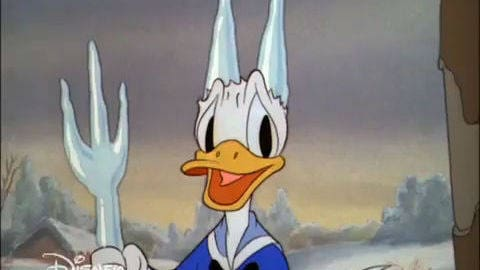 Micky Maus - Kicherkracher: Blam - Donald Duck beim Eislaufen