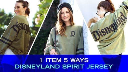 1 Item, 5 Ways: Disneyland Spirit Jersey | Disney Style