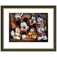 Image of Mickey Mouse ''The Gang'' Giclée by Darren Wilson # 3