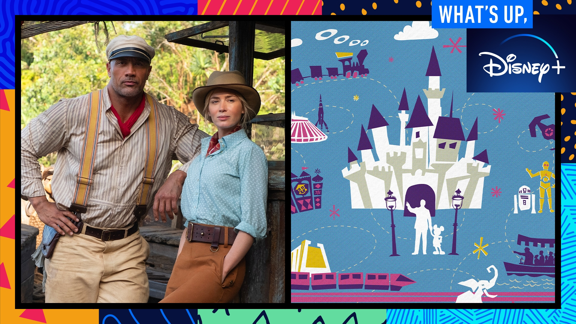 The Cast of Disney's Jungle Cruise and Behind the Attraction | What's Up, Disney+