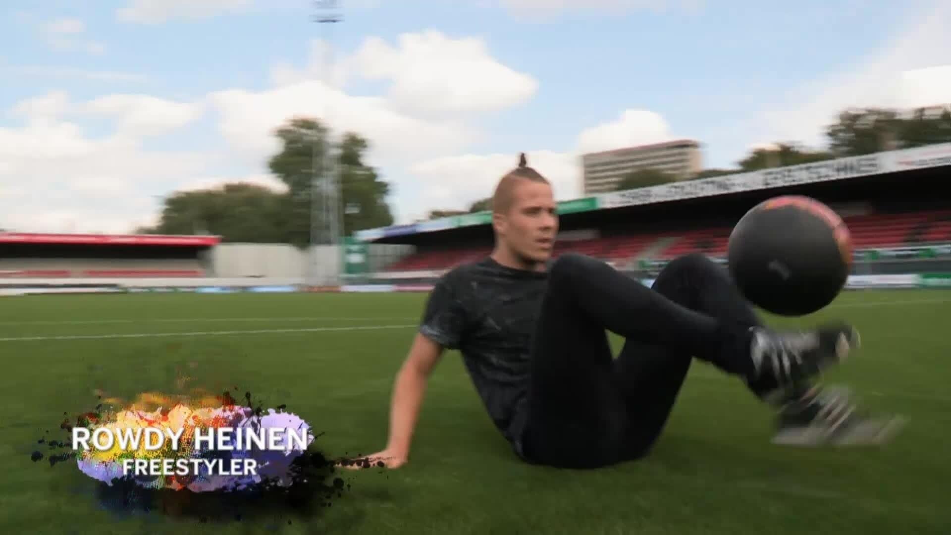 Goalmouth Masterclass - Rowdy Heinen