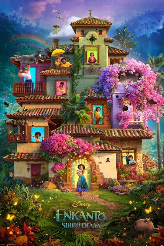 Enkanto: Sihirli Dünya