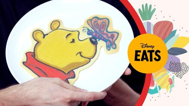 Dancakes, Winnie the Pooh Pancake Art | Disney Eats