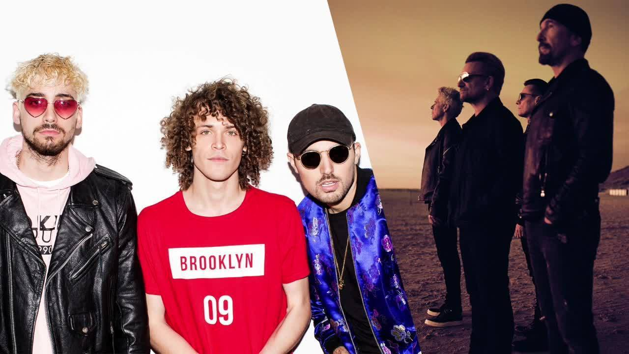 "U2 & Cheat Codes ""Love Is Bigger Than Anything In Its Way"" - Radio Disney Music Mailbag"