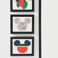 Image of Mickey Mouse ''Color Block Mickey'' Framed Giclée on Canvas by Ethan Allen # 2