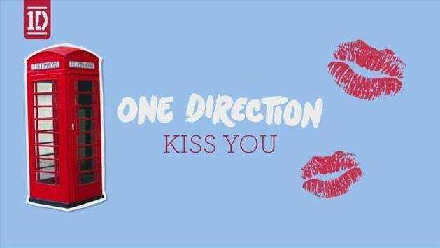 Kiss You (Lyric Video) - One Direction