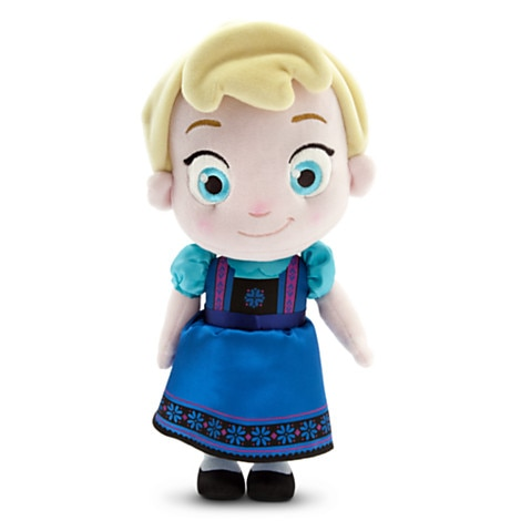 Toddler Elsa Plush Doll - Small - 12'' - Frozen
